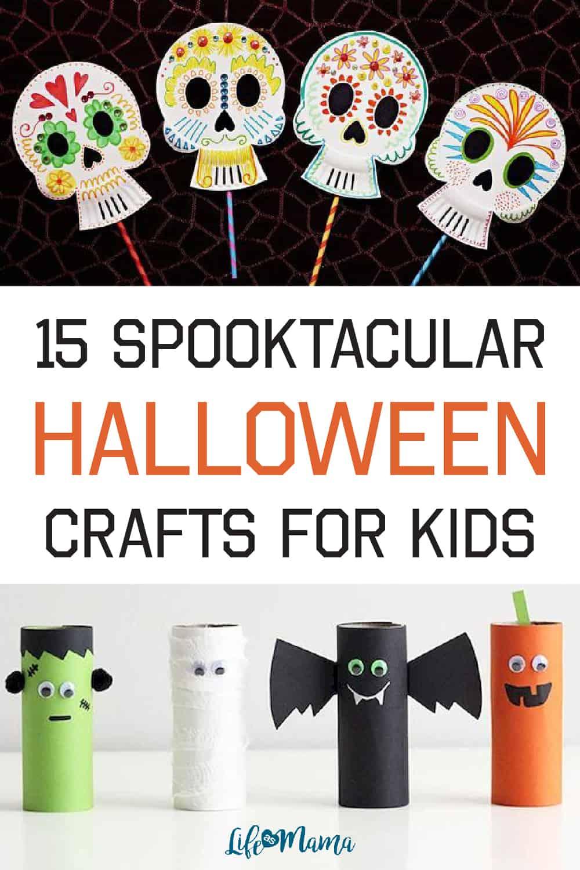 15 Spooktacular Halloween Crafts For Kids