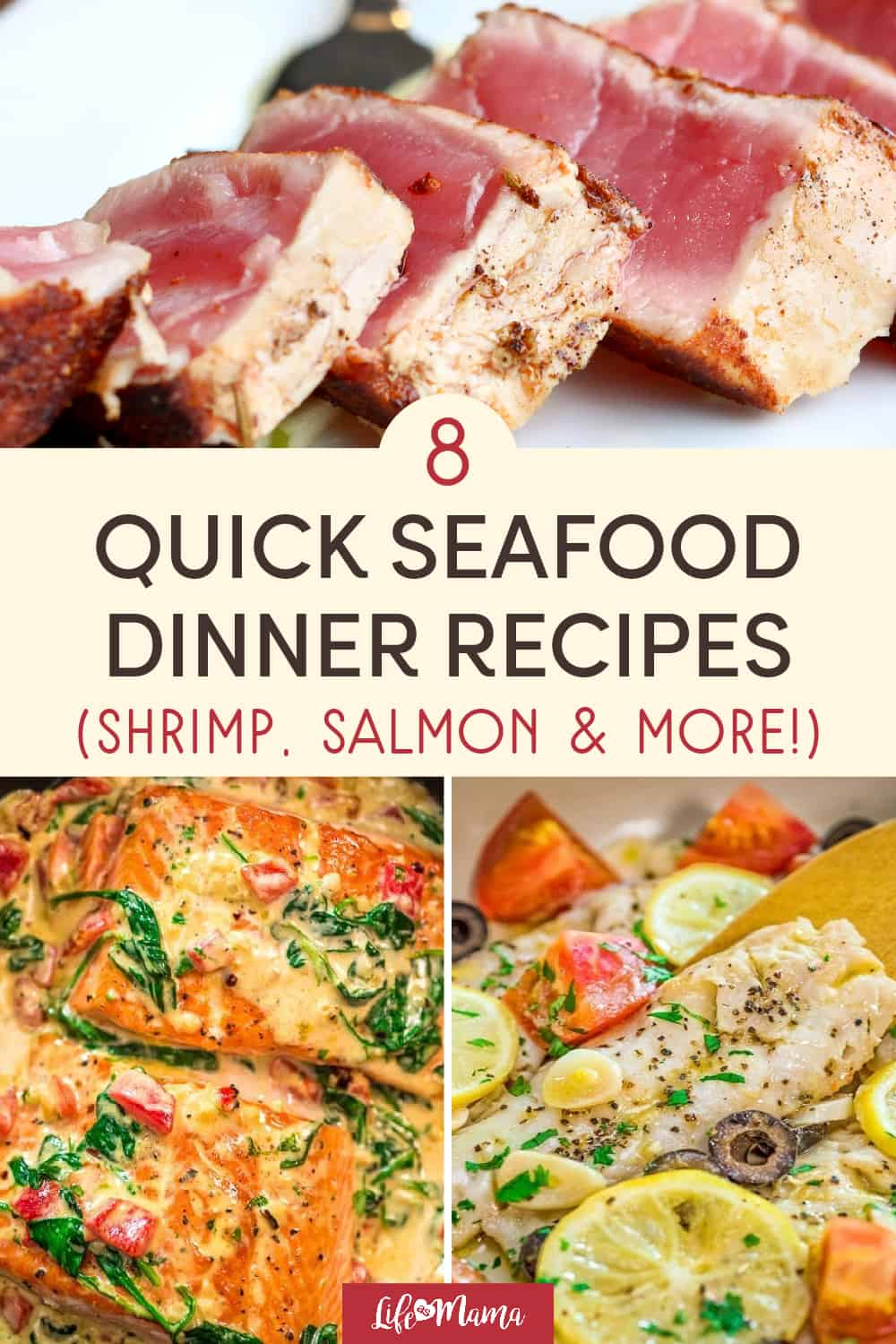 8 Quick Seafood Dinners For Busy Moms