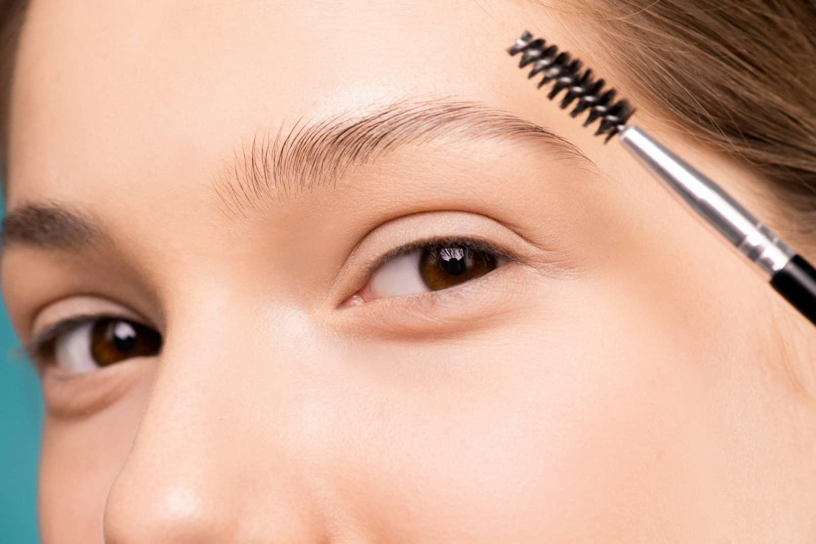 natural brows, fall makeup looks