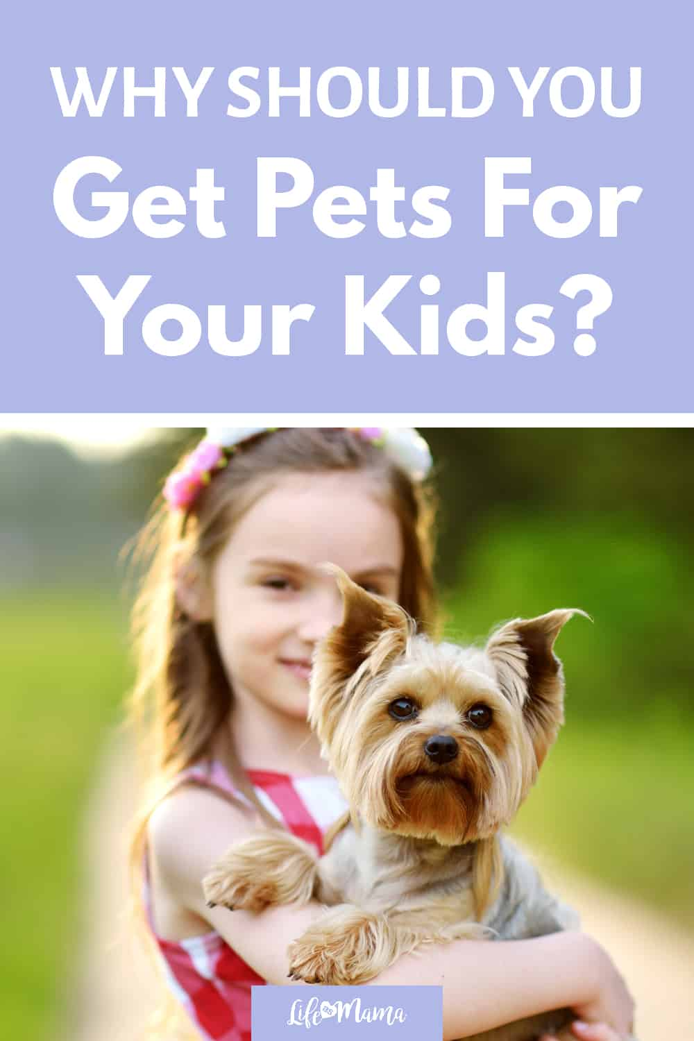 benefits of pets for kids