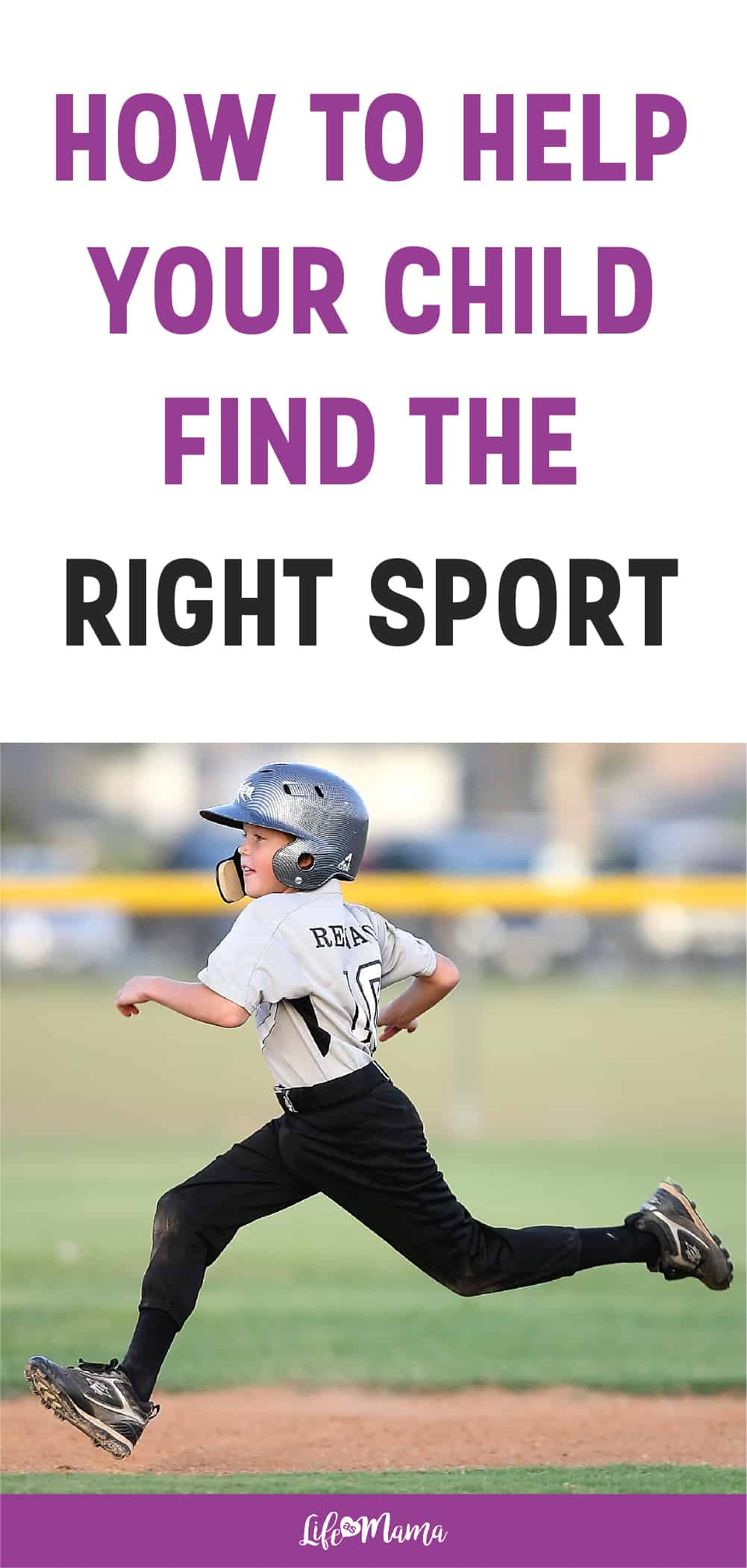 How To Help Your Child Pick A Sport