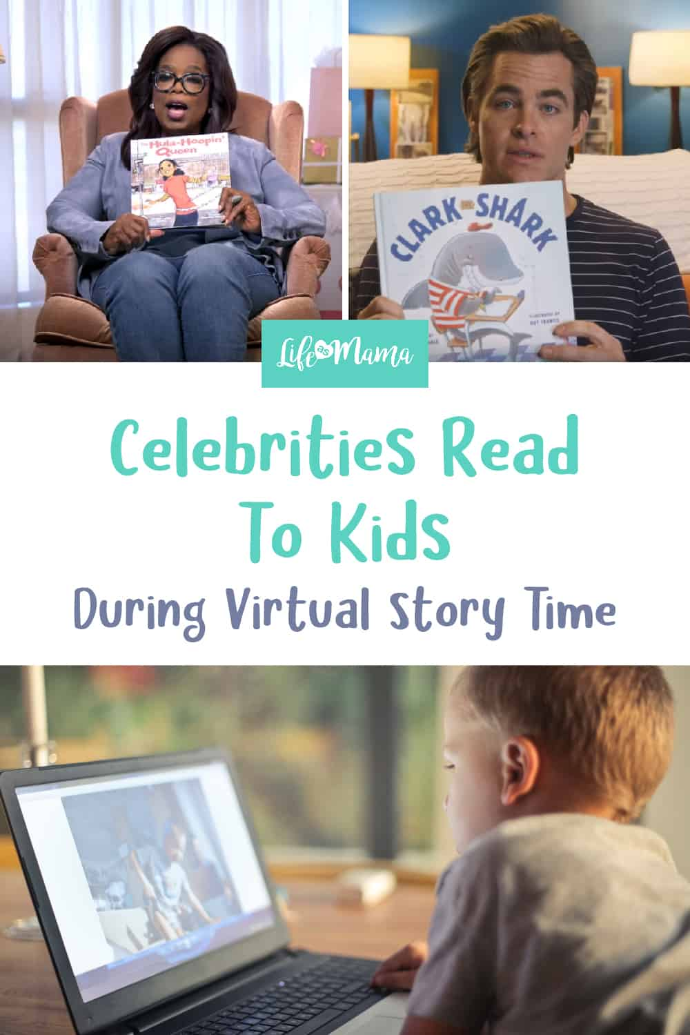 celebrities read to kids during virtual story time