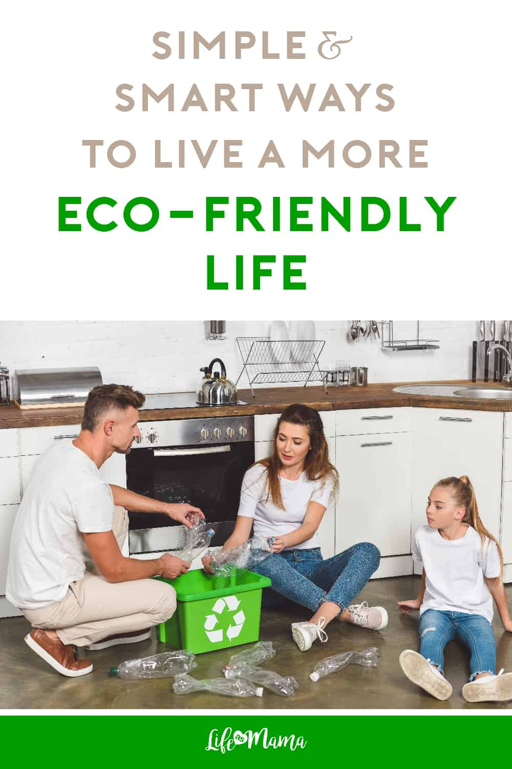 go green as a family eco-friendly