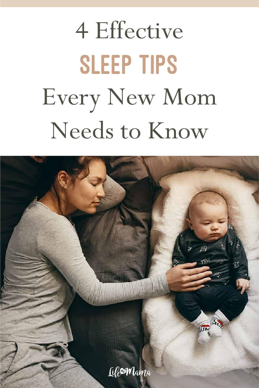 sleep tips for new moms