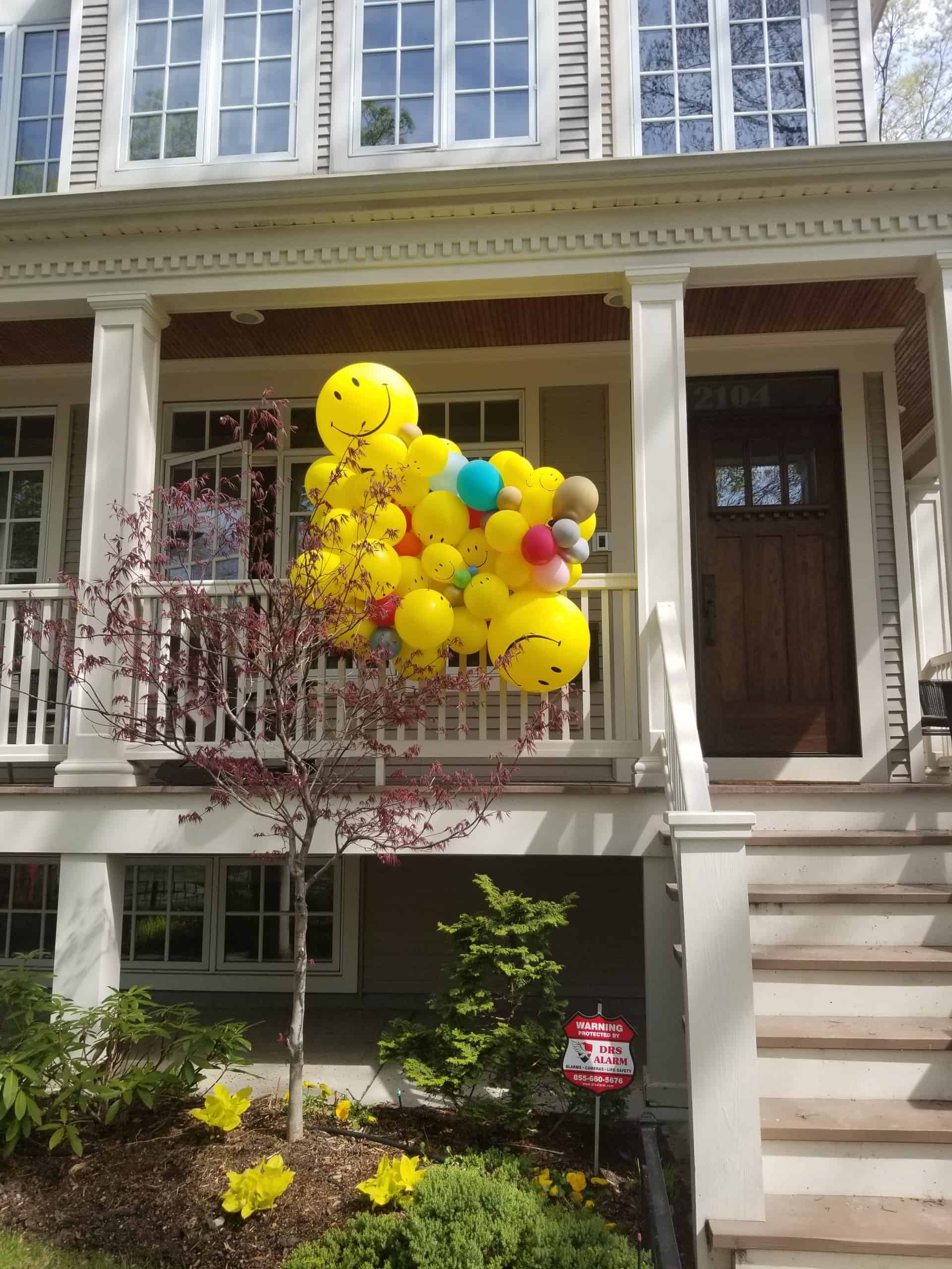 porch decor, quarantine birthday