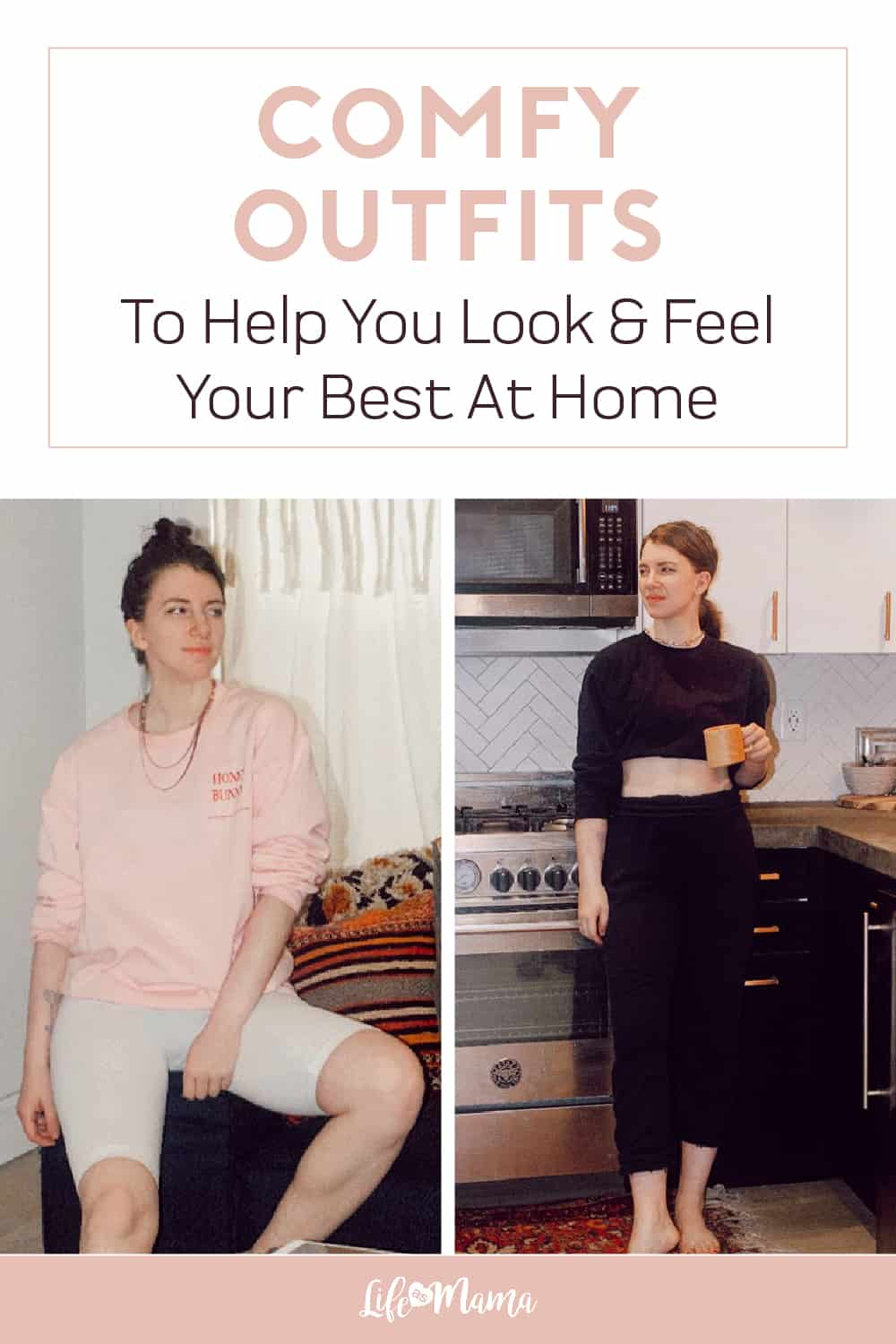 comfy outfits to help you feel and look your best