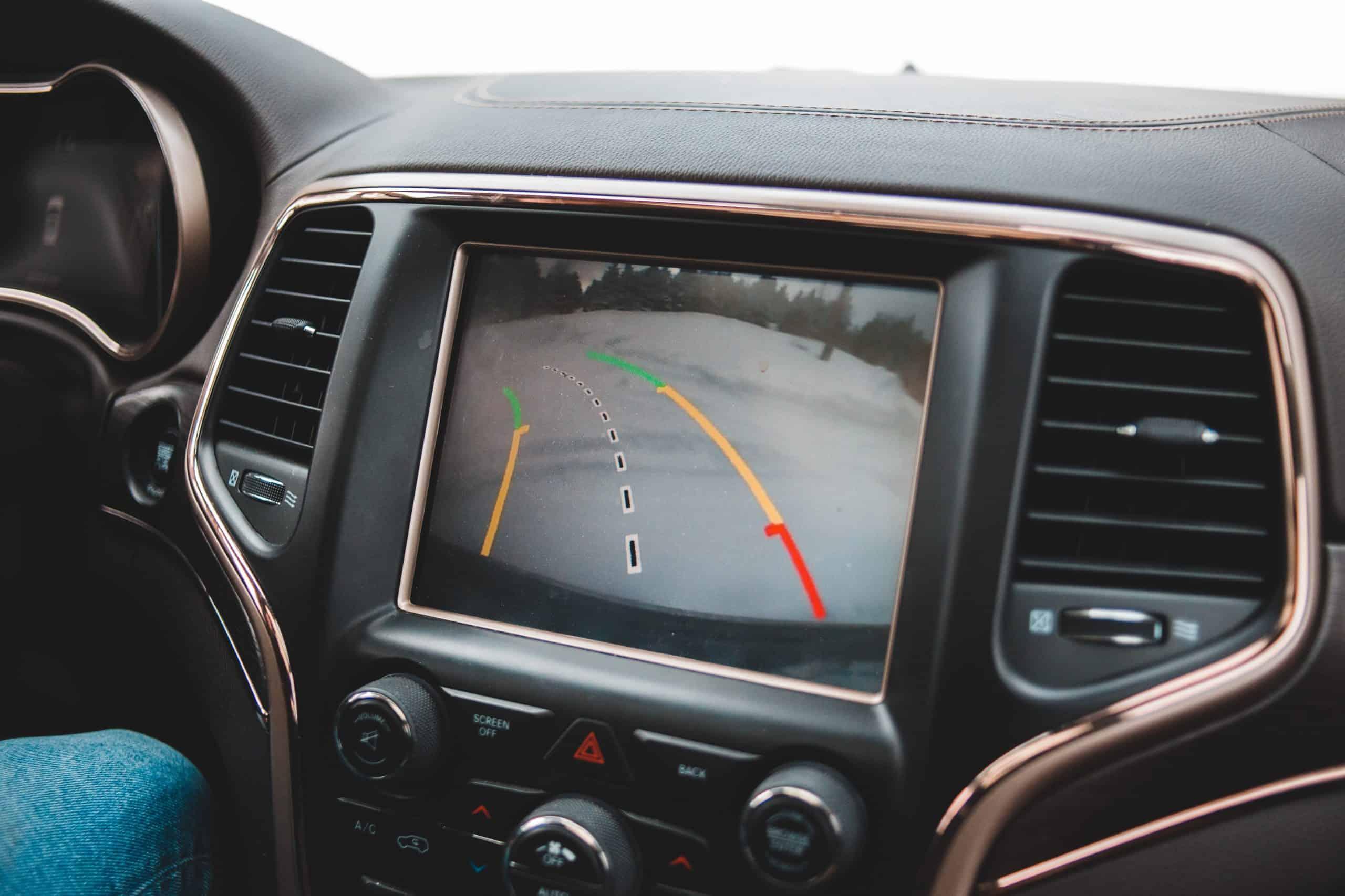 Canva - Black Interior Car