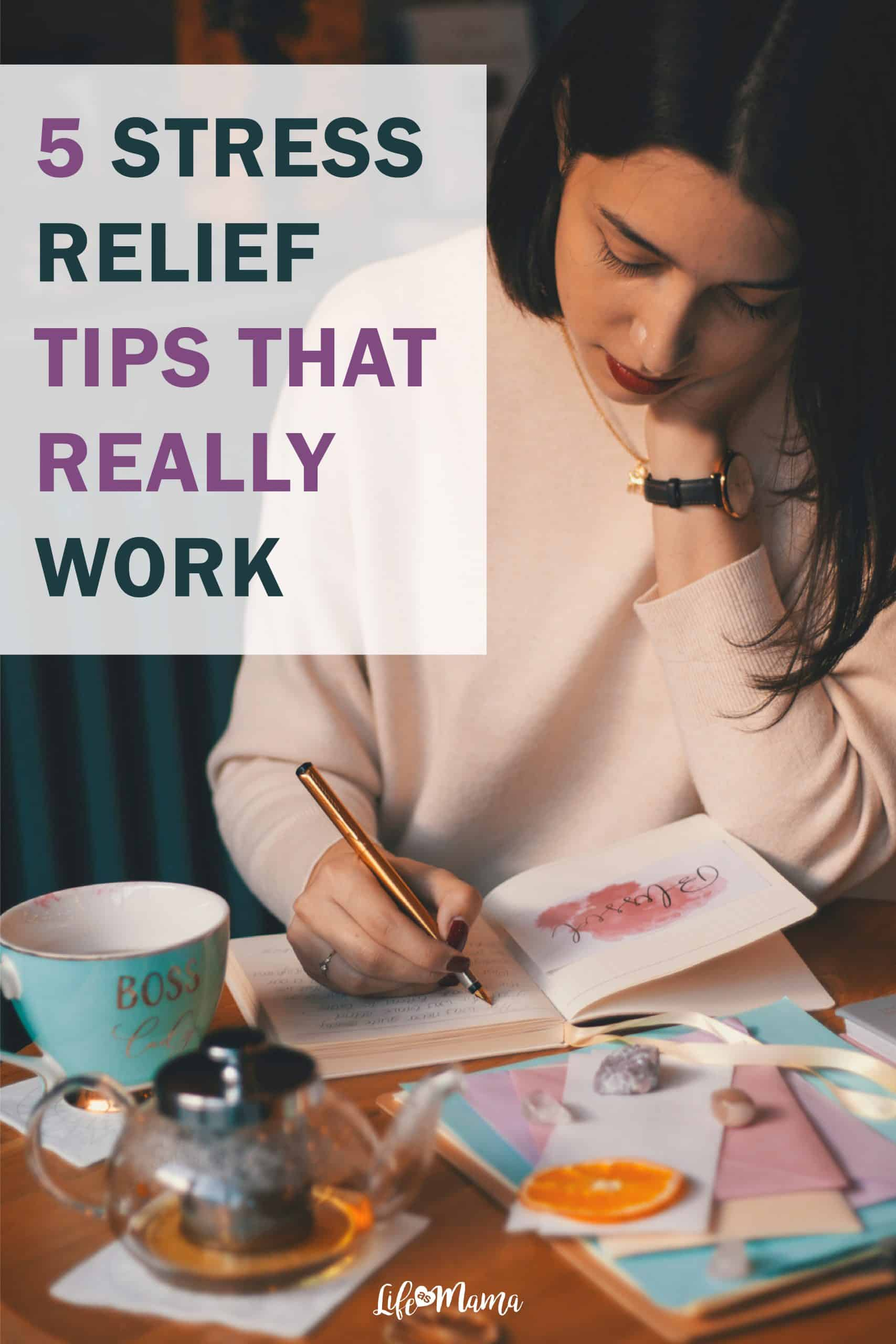 How To Remove Mental Clutter, real-life stress relief