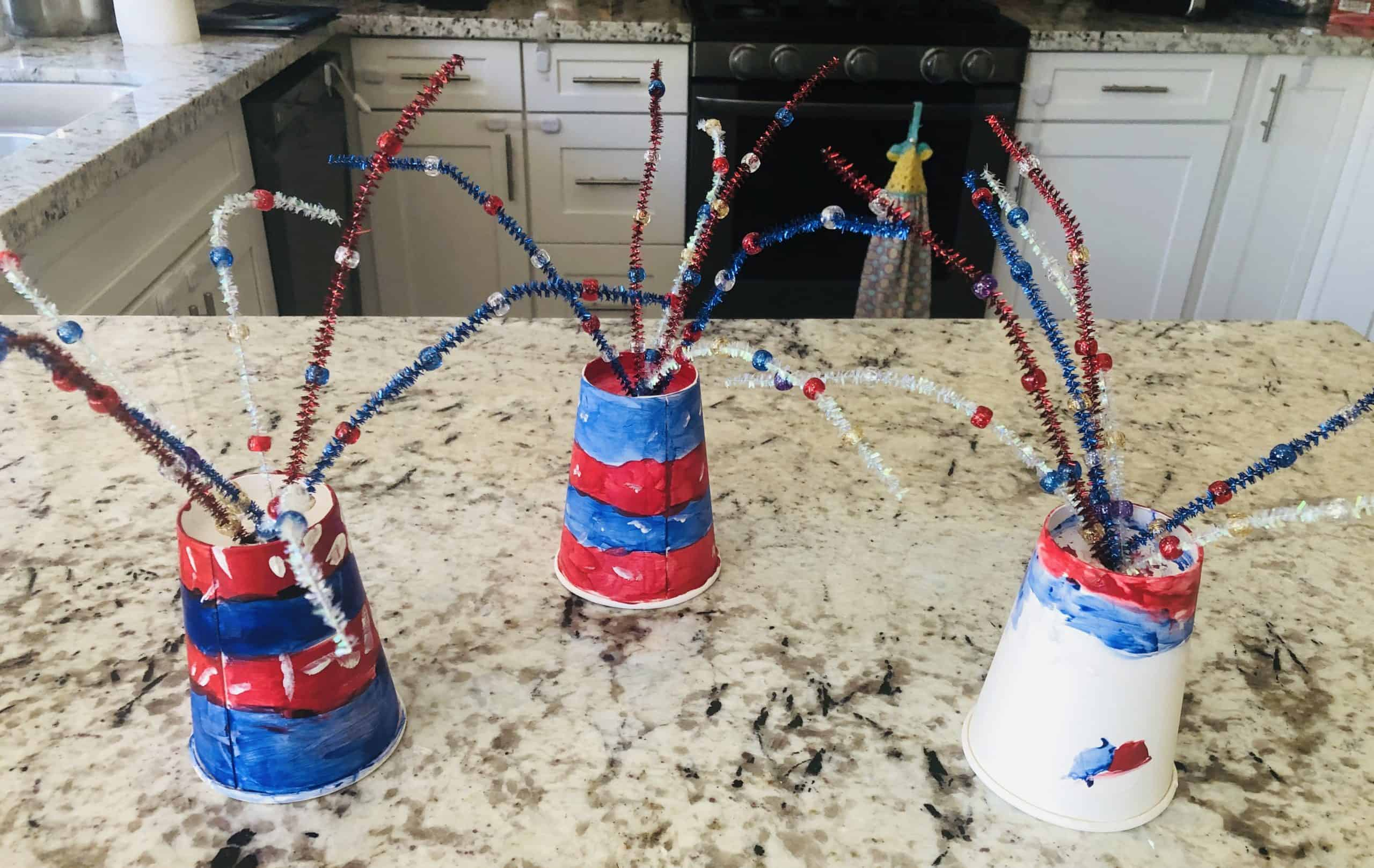 4th of july craft, fireworks
