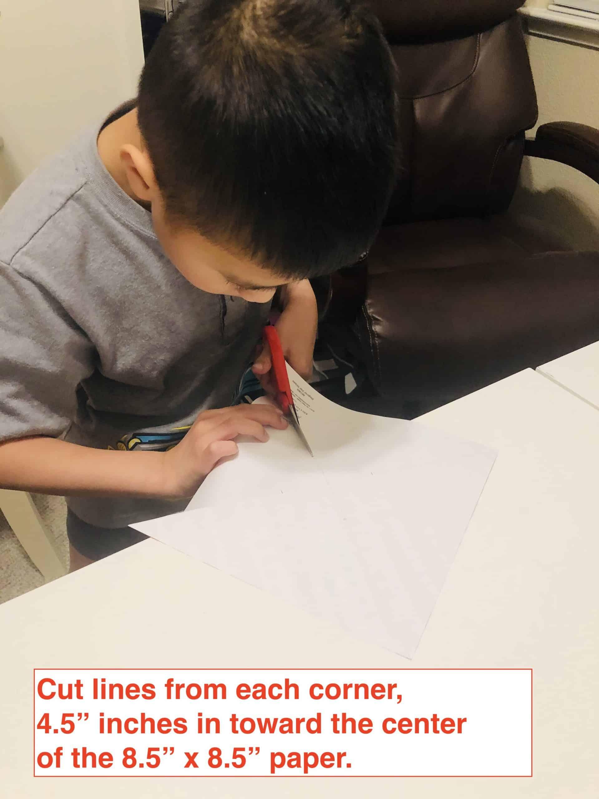 pinwheel cutting