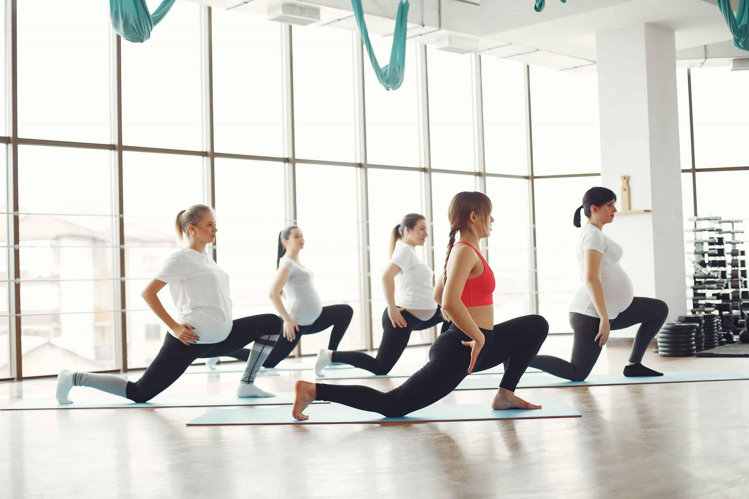 Canva - Women Doing Yoga Indoors