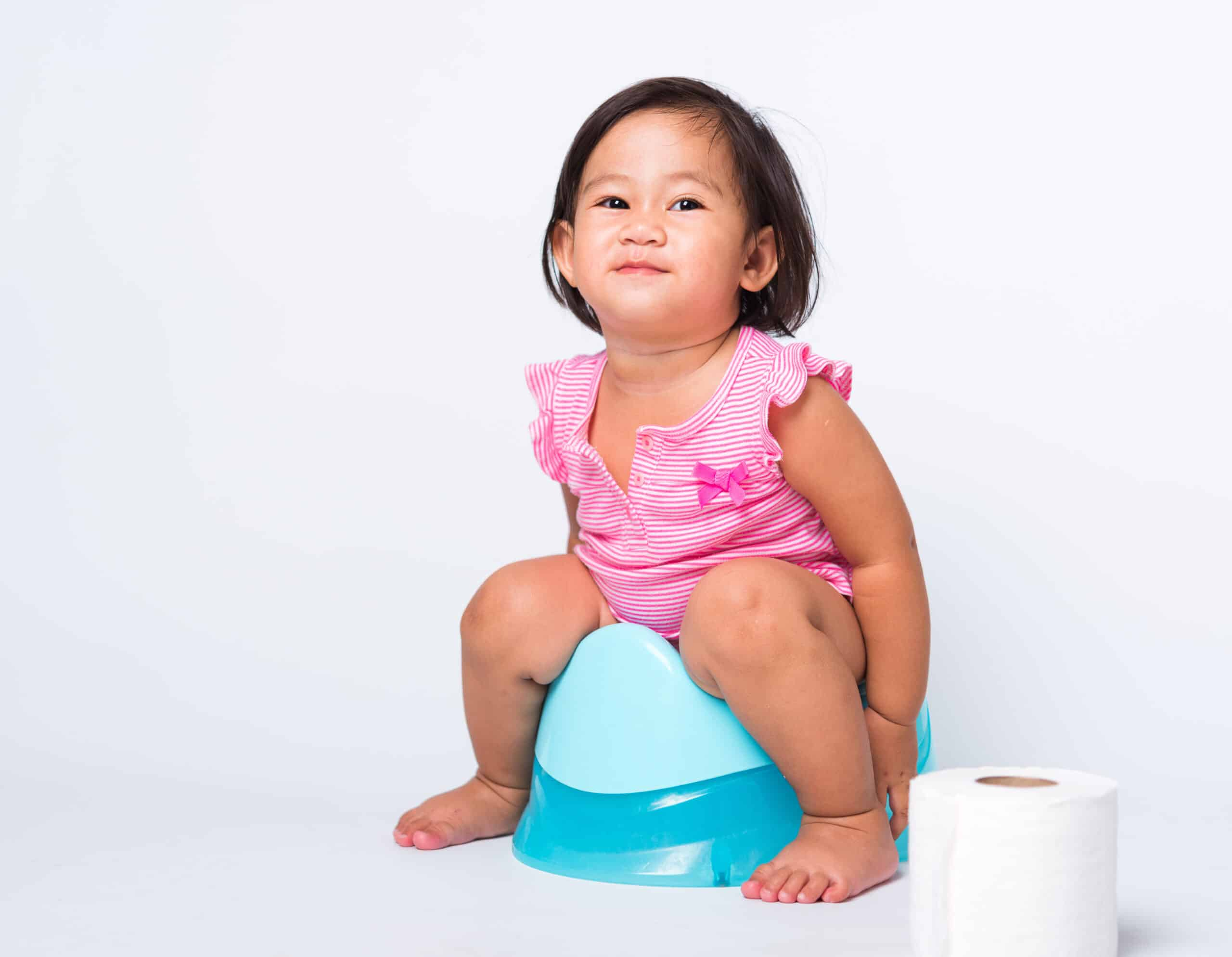 potty training little girl