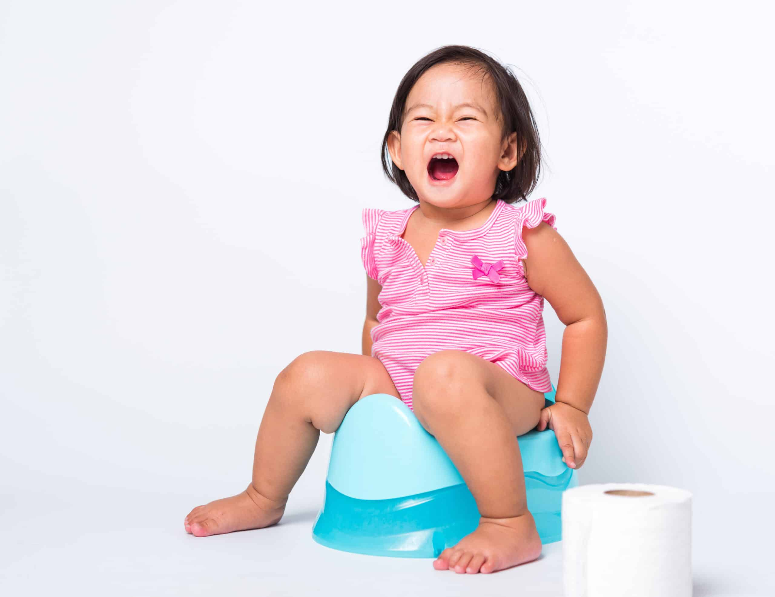 Asian Little Cute Baby Child Girl Education Training To Sitting