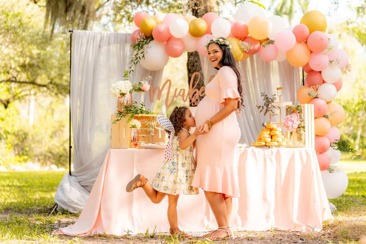 baby shower ideas, baby shower at home