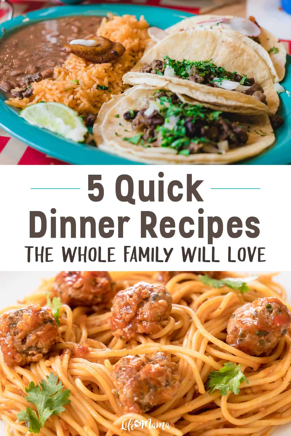 5 Quick Dinner Recipes the Whole Family Will Love