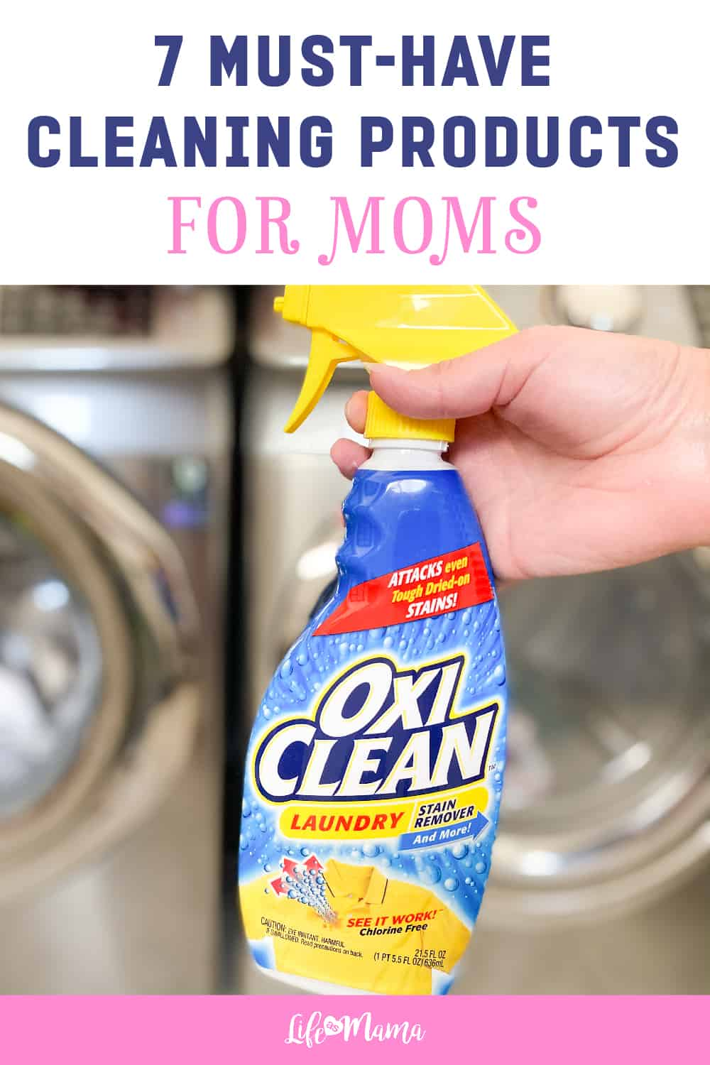 7 Must-Have Cleaning Products For Moms