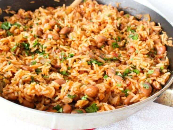 dinner recipes, rice and beans