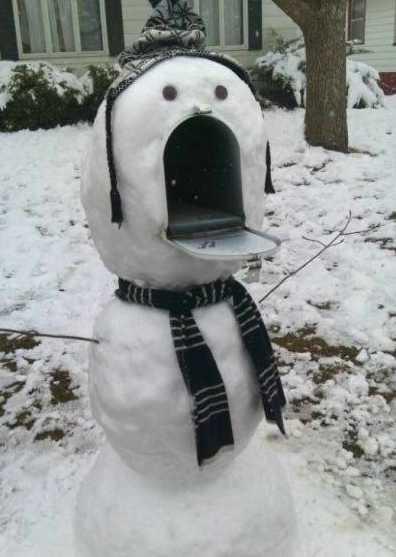 snowman idea