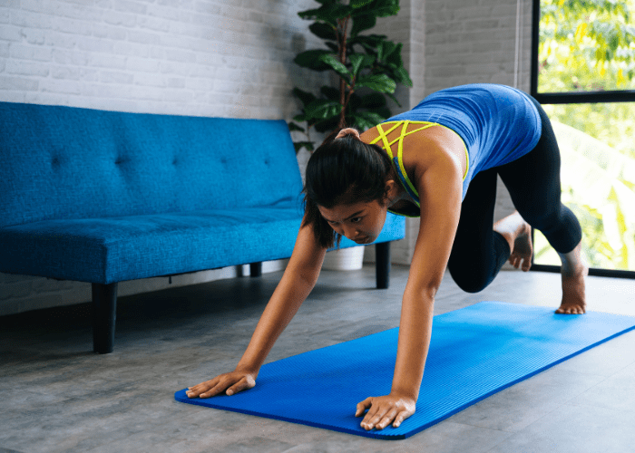 tips for staying fit at home