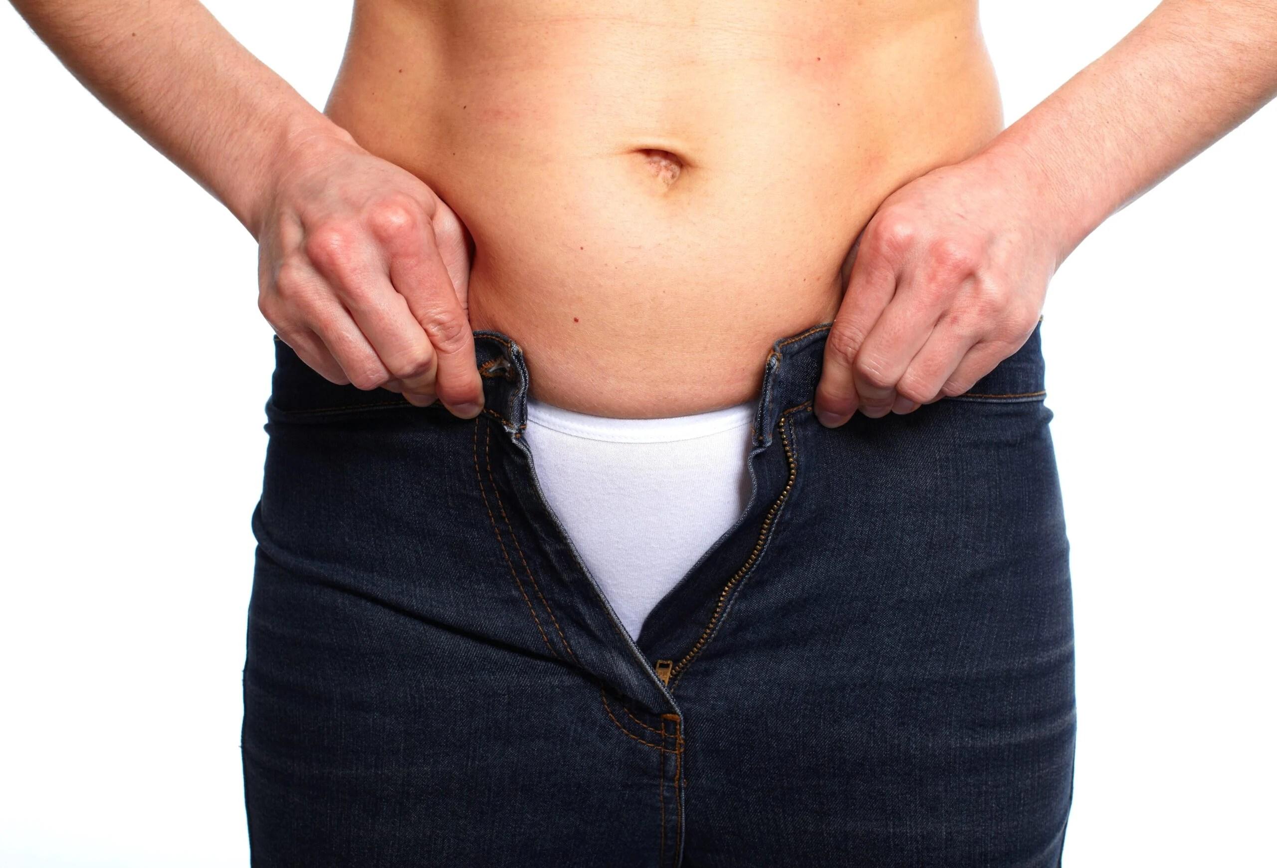 period bloat