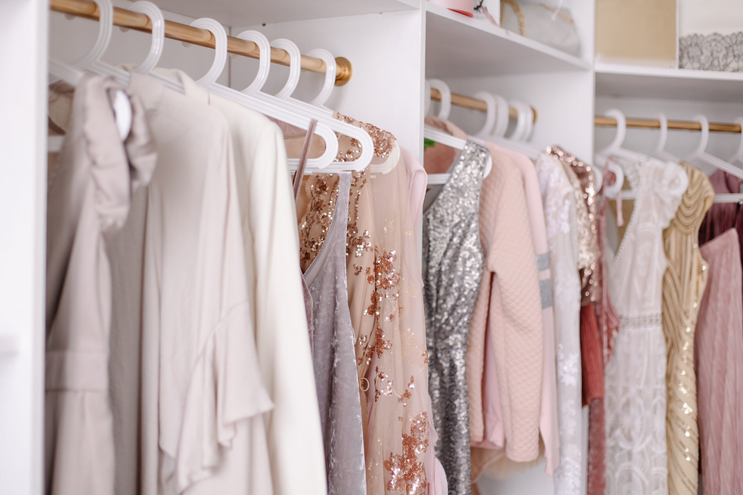 how to make your closet look more elegant