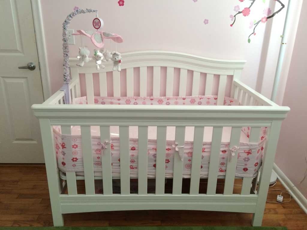 Baby cribs amazon - Our Crib Was Purchased At Babies R Us And I Love It It Is So Sturdy I Found The Mesh Crib Liner At A Mom To Mom Sale For 3 And I