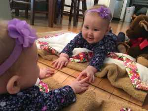 Activities for your 6 month old: Baby in the Mirror