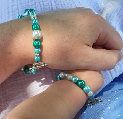 Mommy and Me Bracelet Set - Just an Armful of Sugar on Etsy