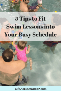 Fitting Swim Lessons into Your Busy Schedule
