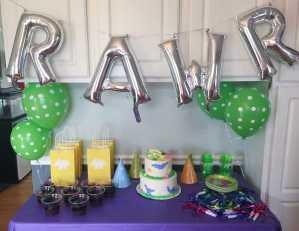 A DINO-Mite 2nd Birthday Party!