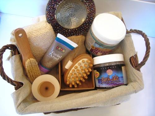 Put Together A Spa Gift Basket