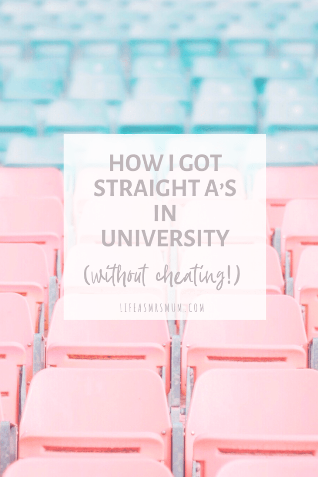 How I got straight A's in University (without cheating!) - The one thing I did differently to have my best academic year year.