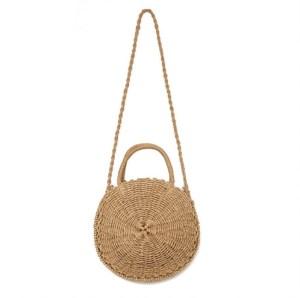 Alice Bag – Round woven handbag