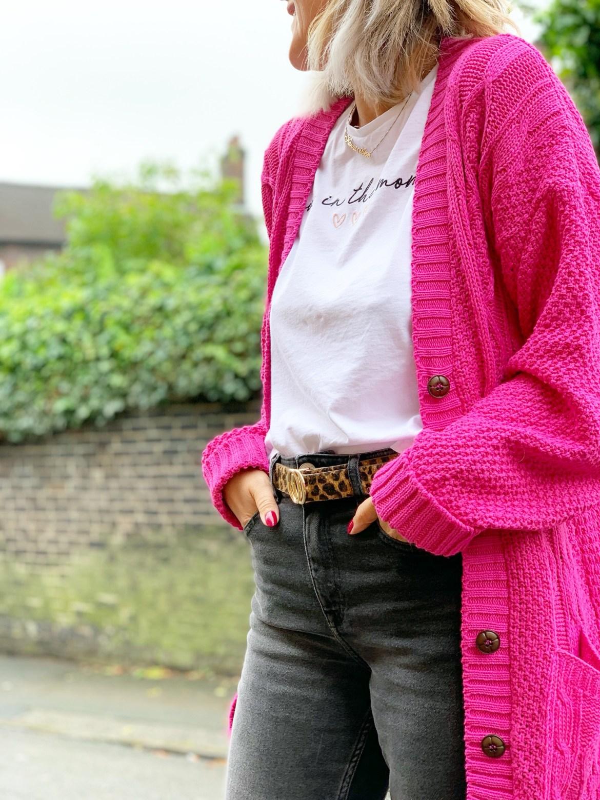 Pink Cardigan Wardrobe Edit