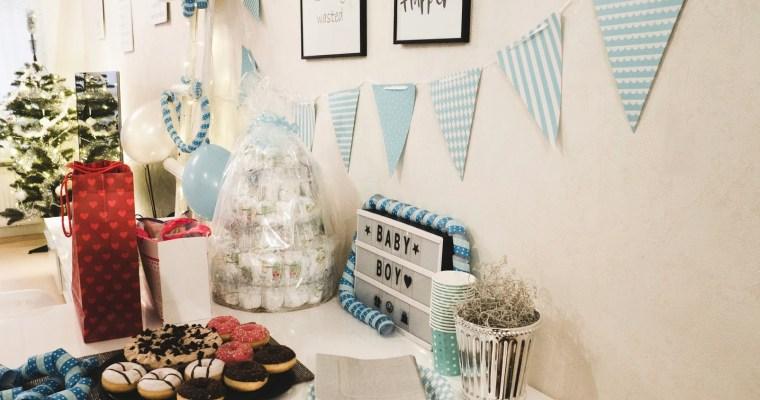 DIY- Diaper cake for babyshower