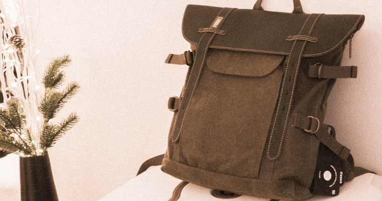 New bagback – hopefully I am finally able to carry my gear better