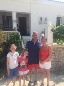 Corfu Family Picture