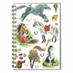 Wiro Notebook Happy Horses