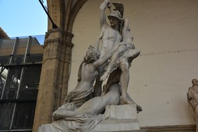 Giambologna's Rape of the Sabine Woman
