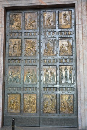 The first Holy Door