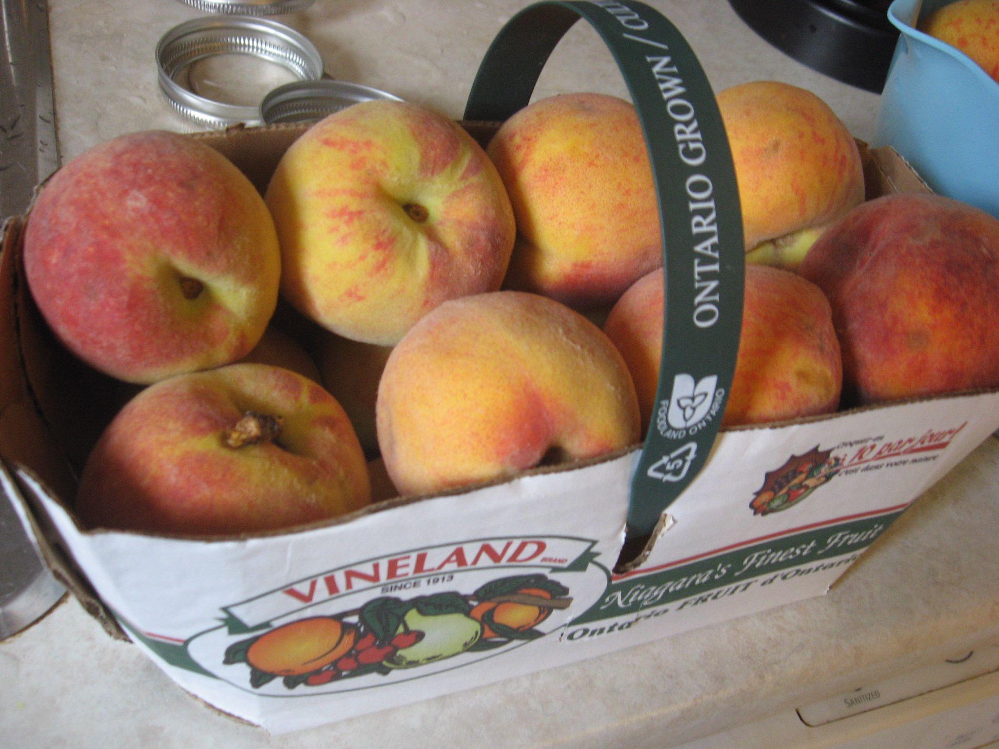 Mmmmm, peaches