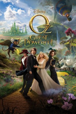 "Poster for the movie ""Oz: The Great and Powerful"""