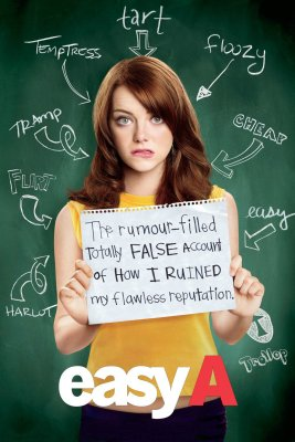 """Poster for the movie """"Easy A"""""""