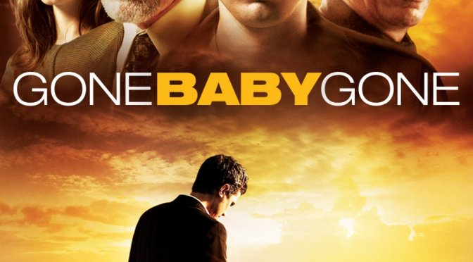 "Poster for the movie ""Gone Baby Gone"""