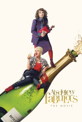 "Poster for the movie ""Absolutely Fabulous: The Movie"""