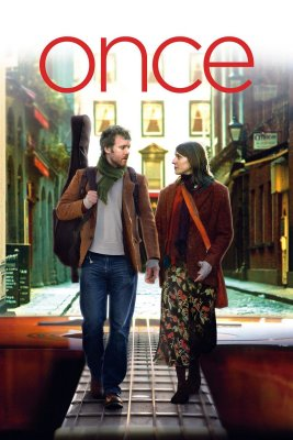 "Poster for the movie ""Once"""