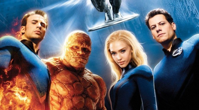 """Poster for the movie """"Fantastic 4: Rise of the Silver Surfer"""""""