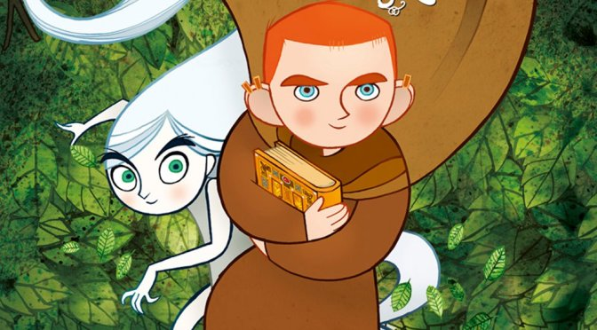 """Poster for the movie """"The Secret of Kells"""""""