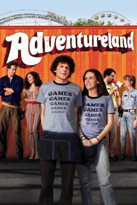 "Poster for the movie ""Adventureland"""