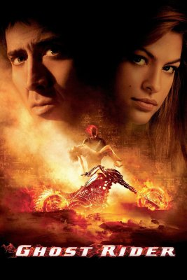"""Poster for the movie """"Ghost Rider"""""""